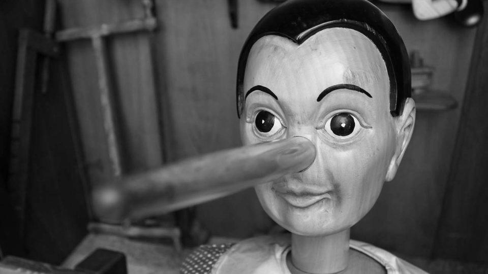 Pinocchio citazione copertina del libro Tre divertimenti di Beniamino Placido