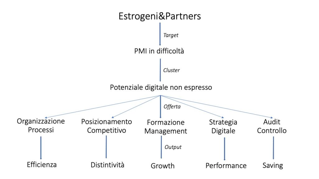 modello Estrogeni&Partners per le PMI in difficoltà