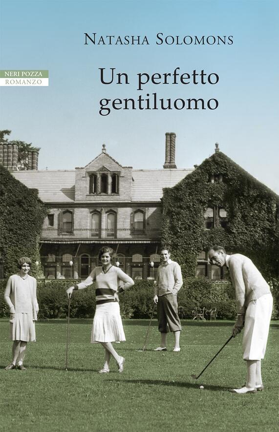 Copertina libro Un perfetto gentiluomo, Natasha Solomons, Neri Pozza